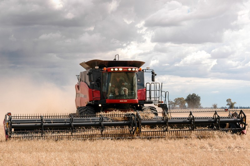 Janlin Harvest Header Reaping Grain